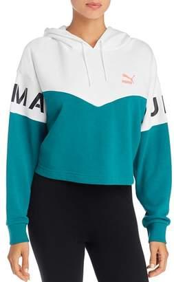 Puma XTG Color-Block Hooded Sweatshirt