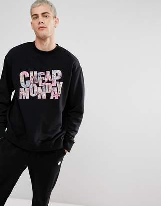 Cheap Monday COLORFUL Logo Sweatshirt