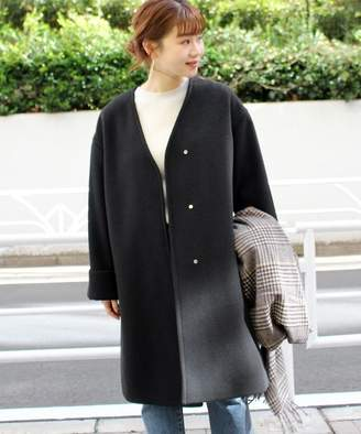 Journal Standard (ジャーナル スタンダード) - JOURNAL STANDARD relume LANA WOOL スリットコート◆