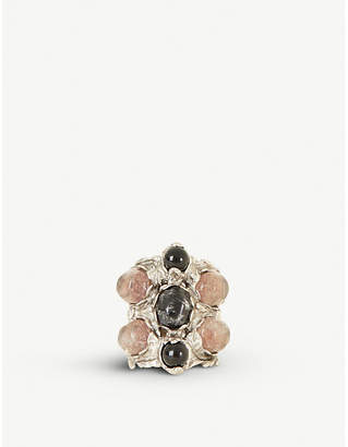 GOOSSENS Empire ring 24ct gold-plated ring