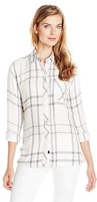 Rails Women's Hunter Plaid Button-Front Shirt