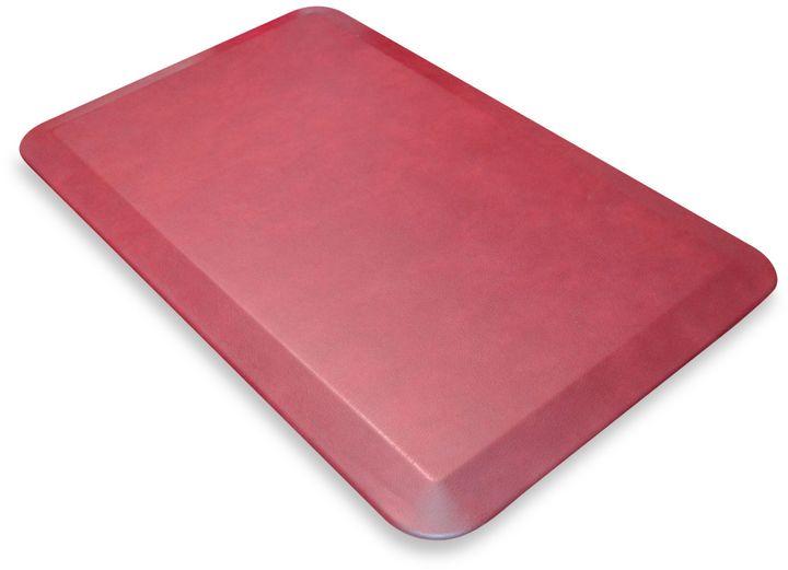 Bed Bath & Beyond GelPro® NewLife™ Designer Comfort Leather Mat in Grain Cranberry