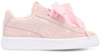 Puma Select Heart Valentine Suede Sneakers