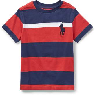 Ralph Lauren Striped Cotton Jersey T-Shirt