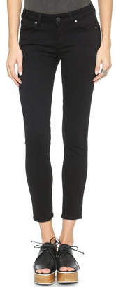 PAIGE Transcend Verdugo Skinny Cropped Jeans $169 thestylecure.com