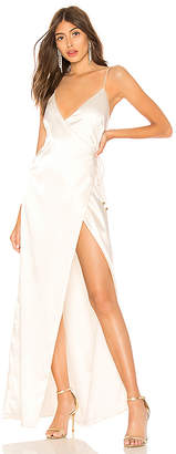 About Us Coco High Slit Maxi Dress