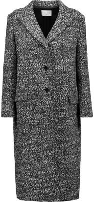 Sandro Margit bouclé coat $725 thestylecure.com