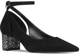 Nine West Quataz Block-Heel Pumps Women Shoes