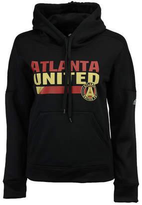adidas Women's Atlanta United Fc Bottom Bar Slant Hoodie