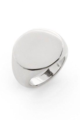 Women's Nordstrom Signet Ring $35 thestylecure.com