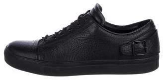 Belstaff Leather Low-Top Sneakers