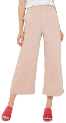 Women's Topshop Sailor Crop Trousers $68 thestylecure.com