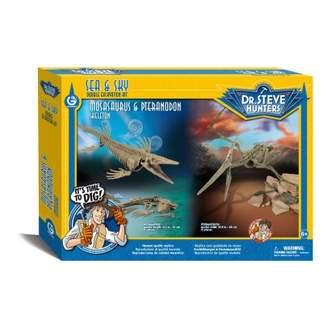 Sale - Mosasaurus & Pteranodon Archeology Kit - Dr Steve Hunters