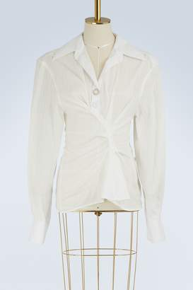 Jacquemus Maceio cotton shirt