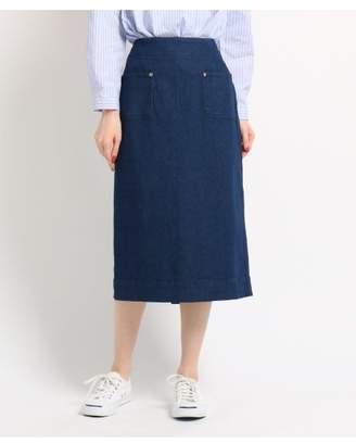 Dessin (デッサン) - Ladies [洗える]8OZデニムストレート スカート