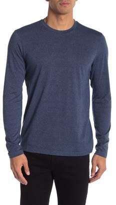 Public Opinion Marl Long Sleeve Crew Neck Shirt