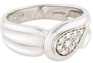 Damiani 18K Diamond Cocktail Ring