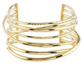 Elizabeth and James Crystal Accented Cuff