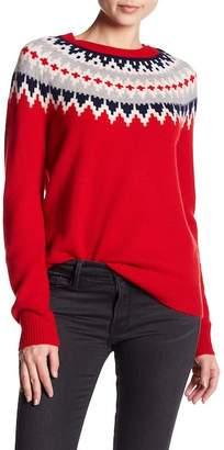 Sofia Cashmere Fairisle Cashmere Sweater
