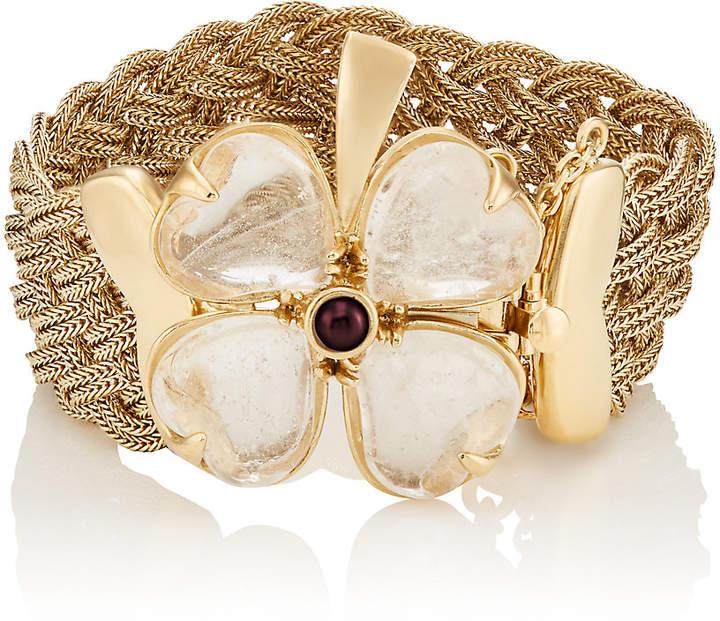 Goossens Paris Women's Trefle Bracelet