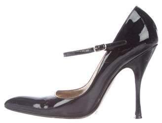 Dolce & Gabbana Patent Leather May Jane Pumps