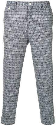 Education From Youngmachines tweed cropped trousers