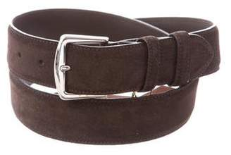 Loro Piana Suede Buckle Belt w/ Tags