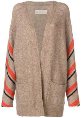 By Malene Birger striped sleeve cardigan