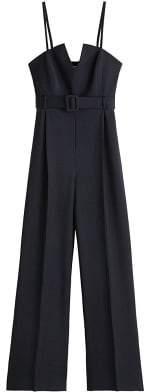 MANGO Belt long jumpsuit