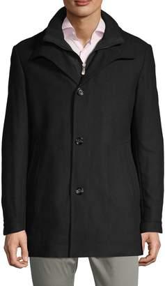 HUGO Classic Spread Collar Topcoat