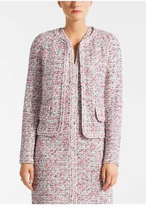 St. John Modern Pointale Knit Jacket