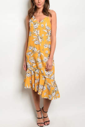 Atelier House Of Yellow Floral Sundress