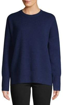 Theory Ribbed Long-Sleeve Sweater