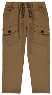 George Tan Woven Cargo Trousers