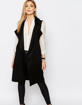 Oasis Sleeveless Vest $110 thestylecure.com