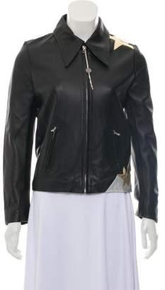 Faith Connexion Leather Star Jacket