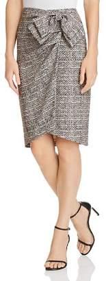 Badgley Mischka Herringbone Skirt