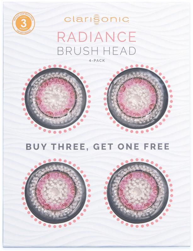 ClarisonicClarisonic Radiance Brush Head 4-Pack