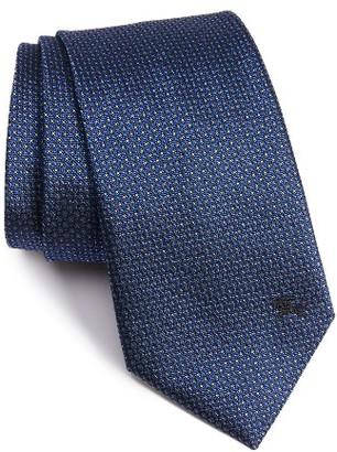 Men's Burberry Clinton Medallion Woven Silk Tie $195 thestylecure.com