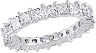 Affinity Diamond Jewelry Affinity 18K 2-9/10 cttw Princess Diamond Eternity Band Ring