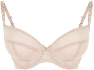 Chantelle Sheer Embroidered Bra
