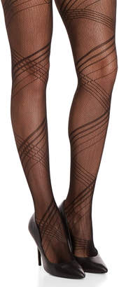 Steve Madden Black Openwork Fashion Tights