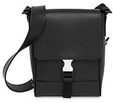 Prada Men's Saffiano Leather Travel Crossbody Bag