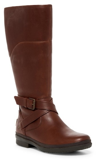 UGG Australia Evanna Genuine Shearling Lined Riding Boot