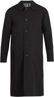 Burberry Hollins reversible weatherproof cotton overcoat