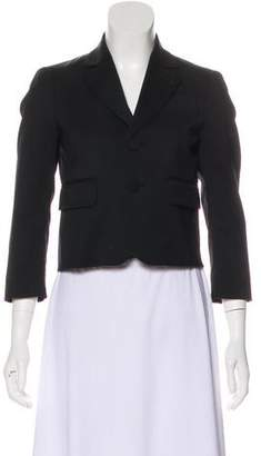 DSQUARED2 Wool Crop Blazer
