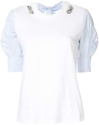 Markus Lupfer Harlow jewel shirt tee