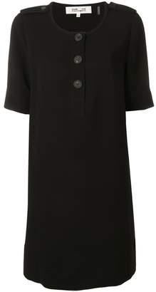 Diane von Furstenberg buttoned shift dress