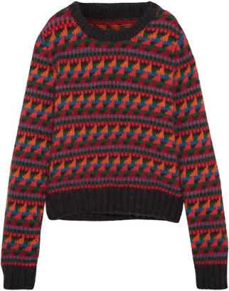 Burberry (バーバリー) - Burberry ウール混 ジャカード セーター