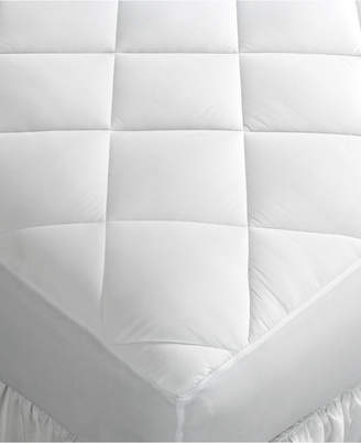 Home Design CLOSEOUT! Queen Mattress Pad, Down Alternative Fiber Fill, Diamond Stitch Quilted Cover, Created for Macy's